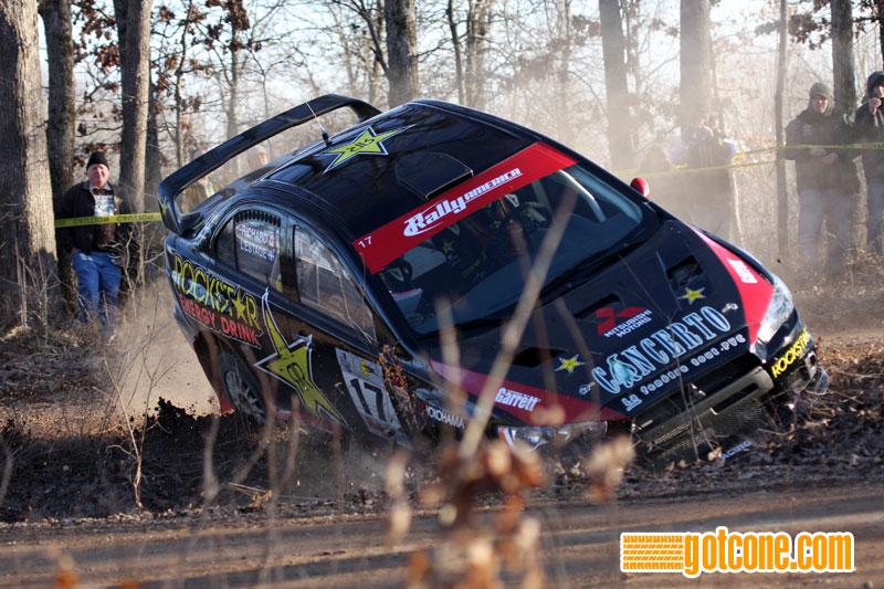 Antoine L'Estage Rockstar Mitsubishi Evo X 100 Acre Wood