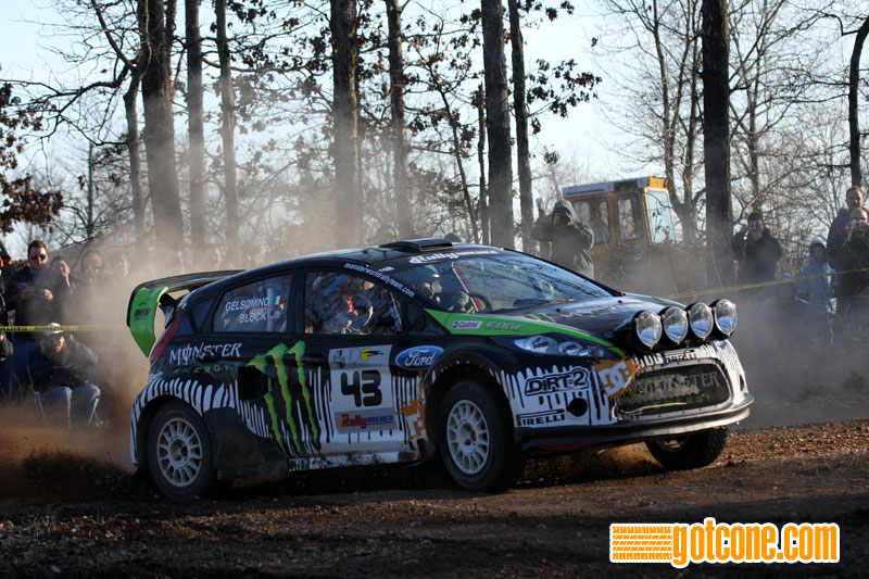 Ken Block Ford Fiesta Rally America