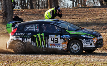 Ken Block Monster World Rally Team