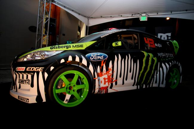 Side View of the 2011 Gymkhana 3 Ford Fiesta