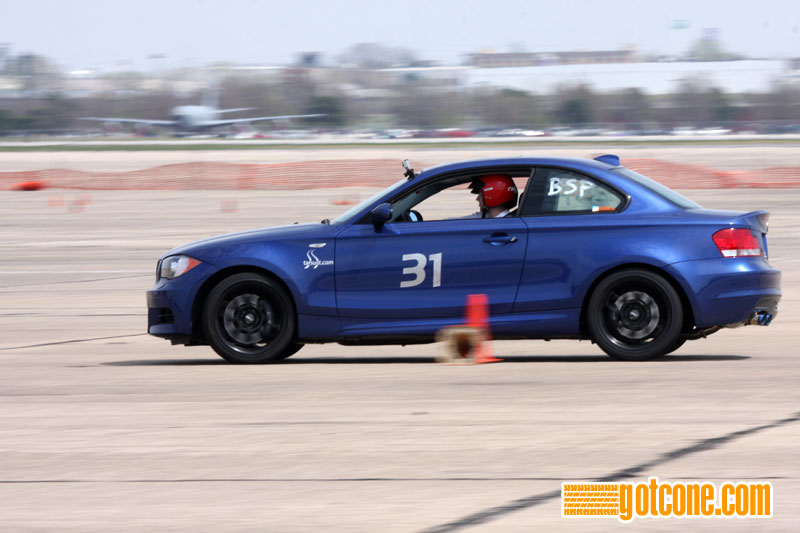 BMW 135i at April 11, 2010 Autocross at Lincoln AirPark