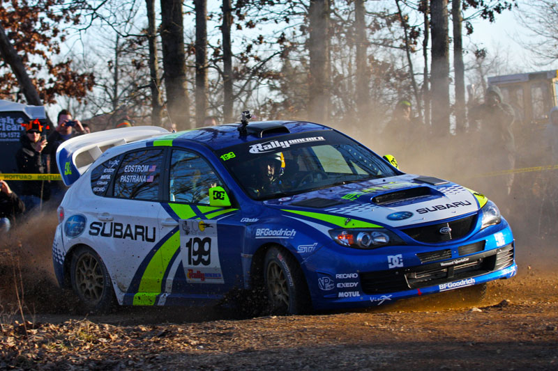 Travis Pastrana's Subaru Rally Team STi