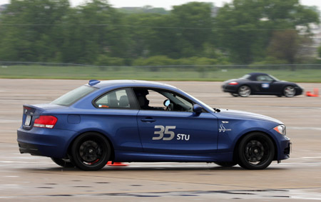 BMW 135i running in STU at NRSCCA May Autocross