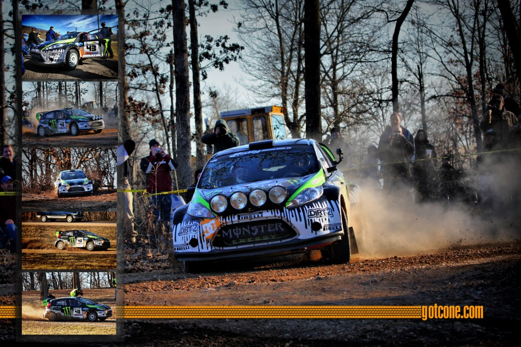 Ken Block wins 100 Acre Wood Rally in his Monster Energy Ford Fiesta