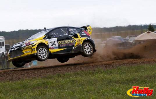 Tanner+foust+ford+fiesta+rallycross