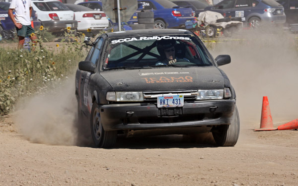 Christy Carlson Rallycross National Championship