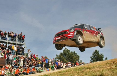 MINI made it's debut at WRC Rally D'Italia Sardinia