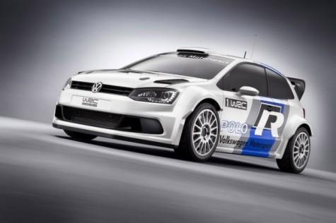 VW Polo R WRC Rally Car Unveiled