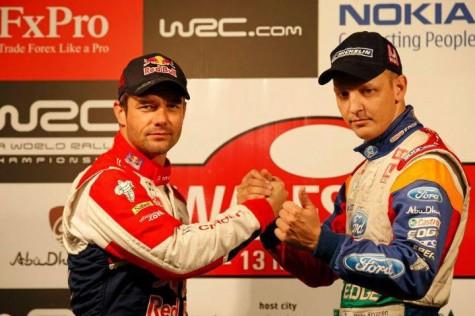 Loeb & Hirvonen teammates in 2012?