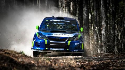 David Higgins Subaru Rally Team at 100 Acre Wood