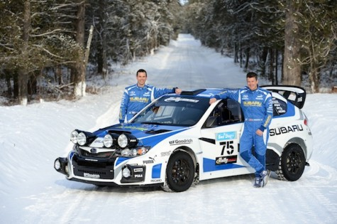 Subaru Rally Team USA 2013 Livery