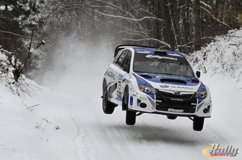 David Higgins Subaru Rally Team Sno*Drift 2013