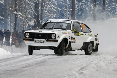Petter Solberg Ford Escort MKII Rally Sweden