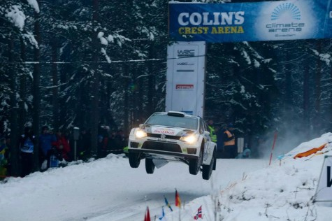Sebastien Ogier 2013 Rally Sweden Colins Crest