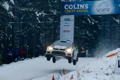 Sebastien Ogier 2013 Rally Sweden Colins Crest