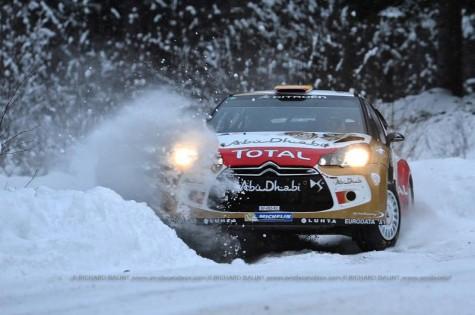 Citroen Rally Sweden 2013