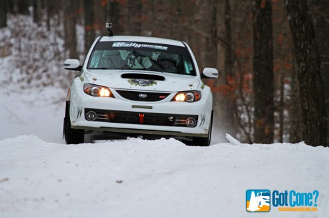 Lauchlin O'Sullivan drove to Super Production victory at Rally in the 100 Acre Wood