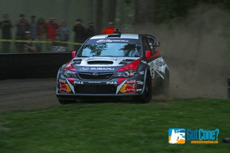 Travis Pastrana jumped out to an early lead at Portland International Raceway