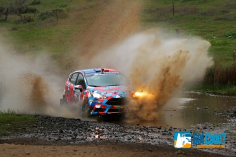 ACP took his Ford Fiesta ST to the 2WD victory at Oregon Trail Rally