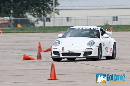 Porsche GT3 at Lincoln MiDiv Championships