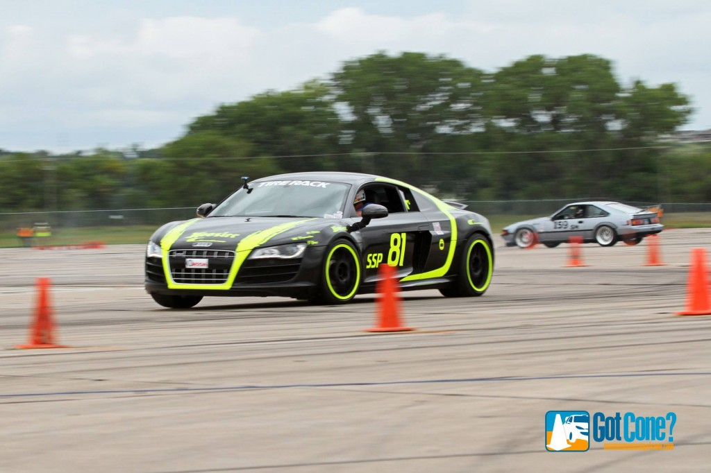 Audi R5 at 2014 SCCA Solo National Championships