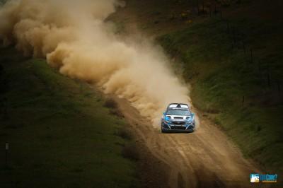 David Higgins #75 Subaru Rally Team