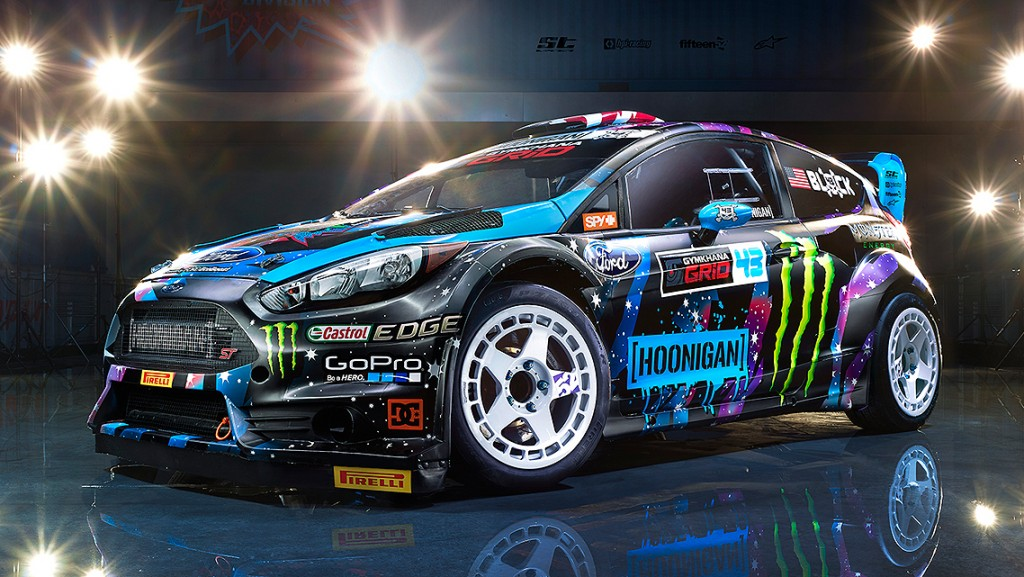 Ken Block Hoonigan Racing 2015 livery