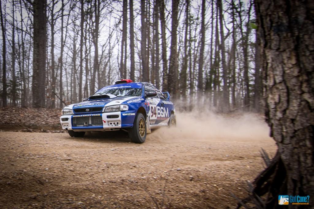 Fetela Subaru Rally Car