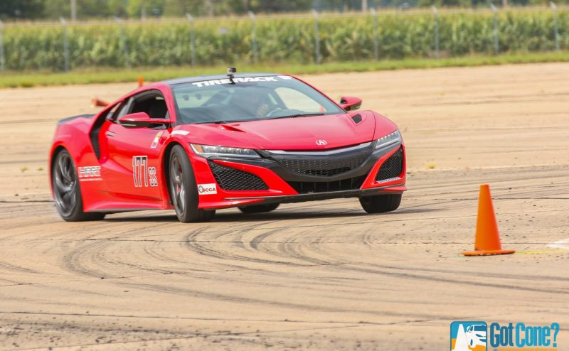 Acura NSX competing at 2016 SCCA Tire Rack National Championships