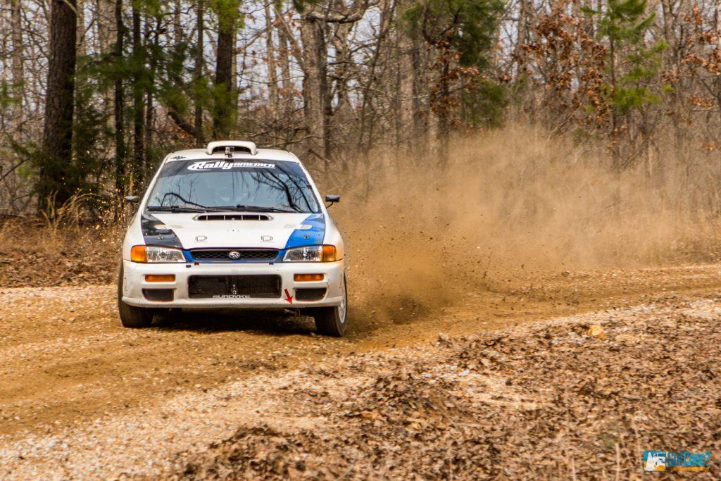 Subaru Impreza sliding