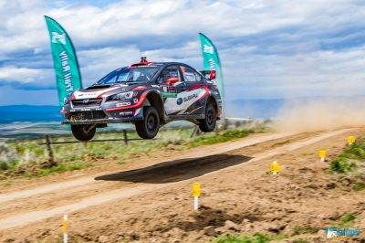 Travis Pastrana flying high at Oregon Trail Rally