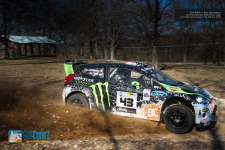 Ken Block took the victory at the 2012 Rally In The !00 Acre Wood