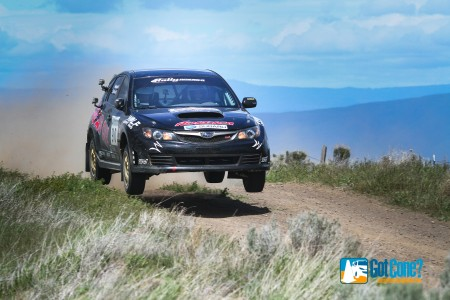Lauchlin O'Sullivan and Scott Putnam took home the SP victory at 2015 Oregon Trail Rally